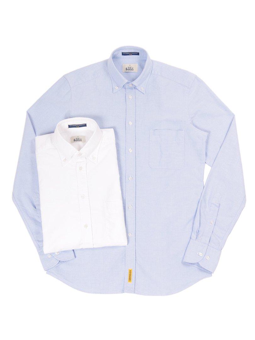 【B.D. Baggies】<br>DEXTER オックスフォードボタンダウンシャツ