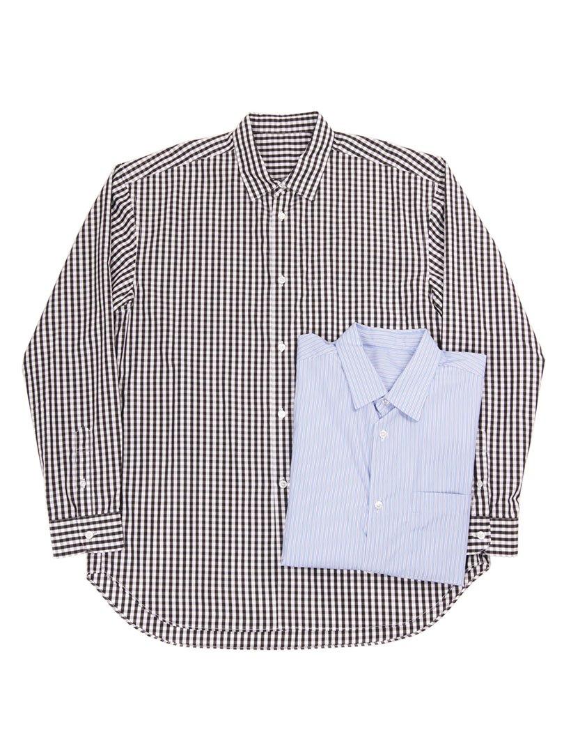 【GOODNEIGHBORS SHIRTS】<br>PETER レギュラーカラーワイドシャツ