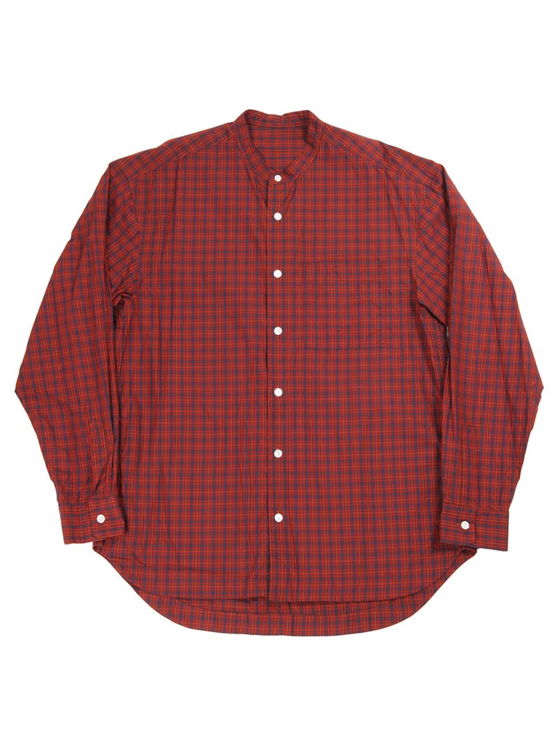 【GOODNEIGHBORS SHIRTS】<br>DAMON バンドカラーワイドシャツ