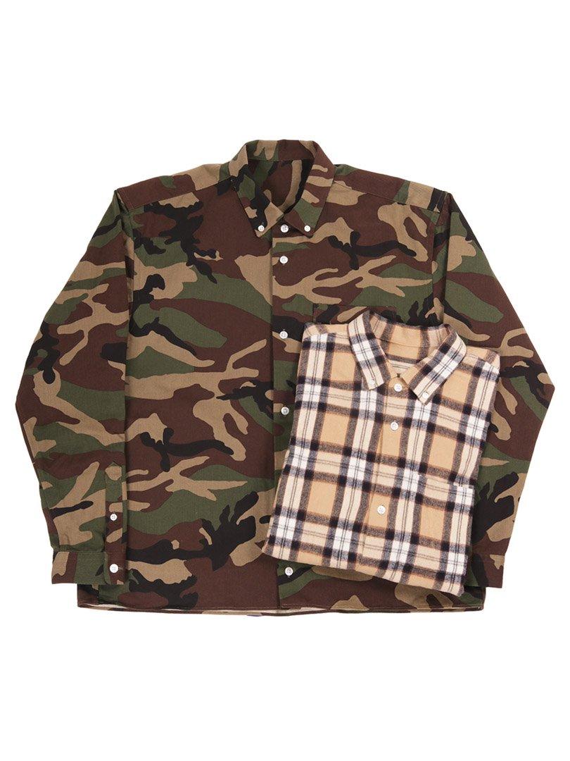 【GOODNEIGHBORS SHIRTS】<br>PAUL ボタンダウンカラーワイドシャツ
