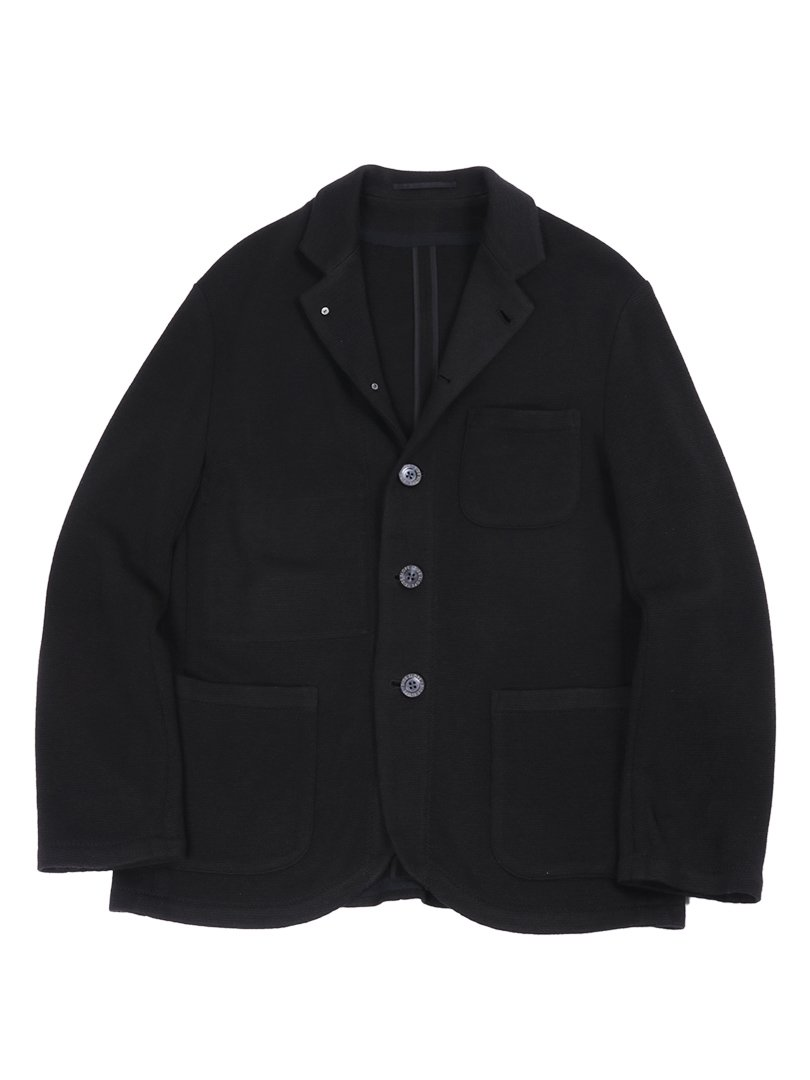 【SIDE SLOPE】<br>防水防汚ニットジャケット