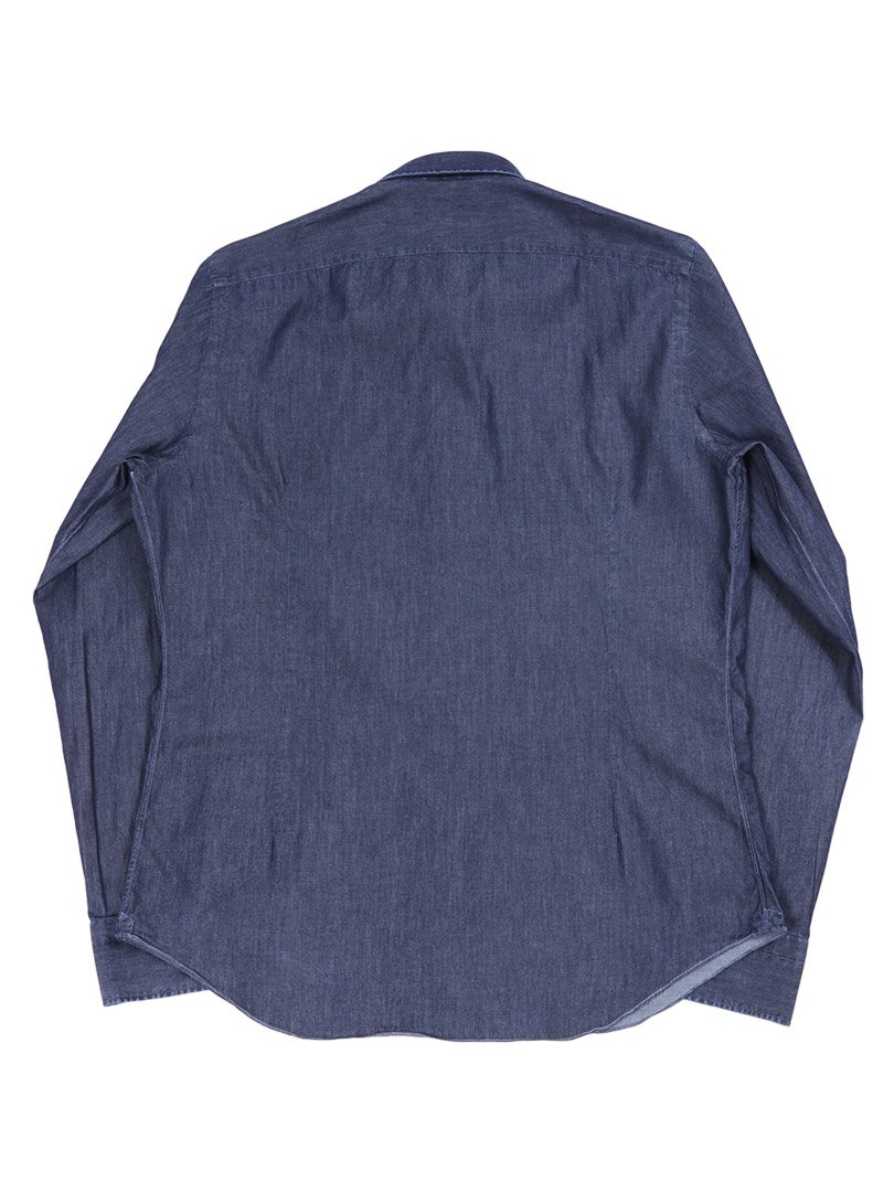 【Fralbo】シャンブレーレギュラーシャツ