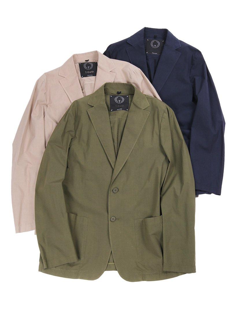 【T-JACKET】<br>ガーメントダイ2Bジャケット
