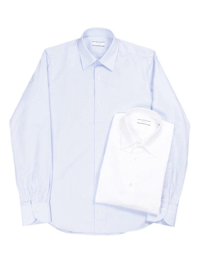 【Fralbo】<br>ライトオックスレギュラーシャツ
