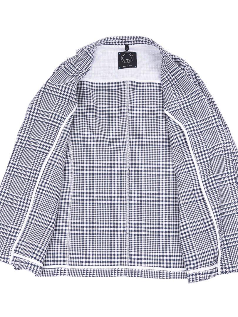 【T-JACKET】グレンチェック2Bジャケット