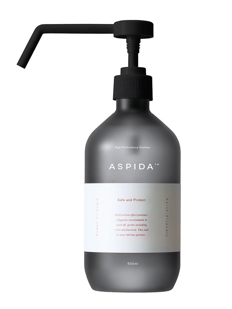 【ASPIDA】<br>ポンプボトル