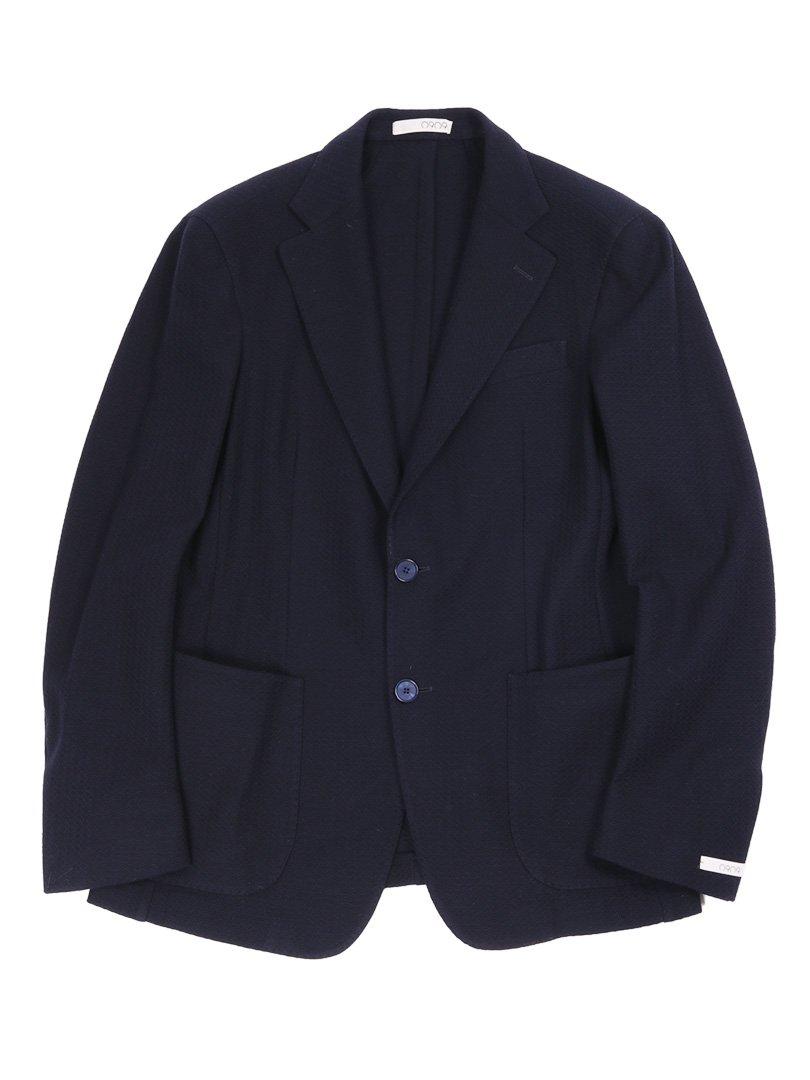 【0909】<br>コットンニット2Bジャケット
