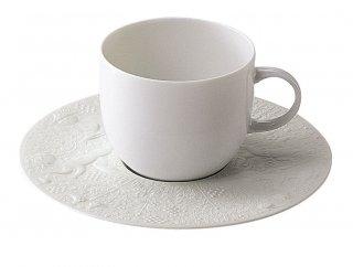 魔笛ホワイト コーヒーカップ&ソーサー
