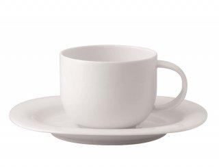 スオミ ホワイト コーヒーカップ&ソーサー