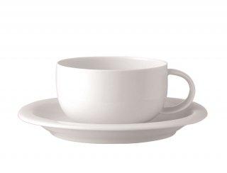スオミ ホワイト ティーカップ&ソーサー