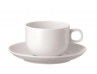 ムーン ホワイト コーヒーカップ&ソーサー