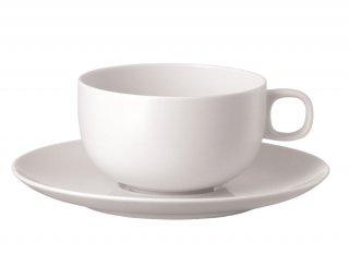 ムーン ホワイト ティーカップ&ソーサー