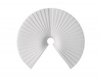 アーカス ホワイトマットベース24cm