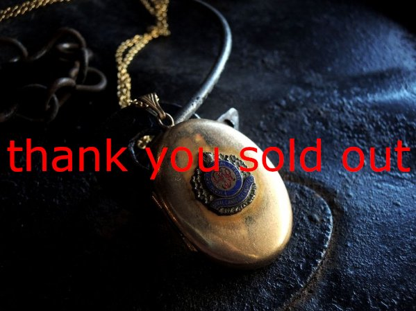~'52 Royal Canadian Engineers Necklace Top Rocket