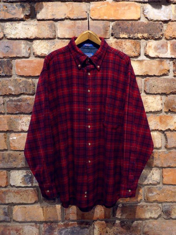 90's Pendleton Wool Check B/D Shirt sizeXL