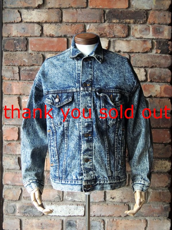 90's Levi's 70507-0520 Chemical wash Denim jacket