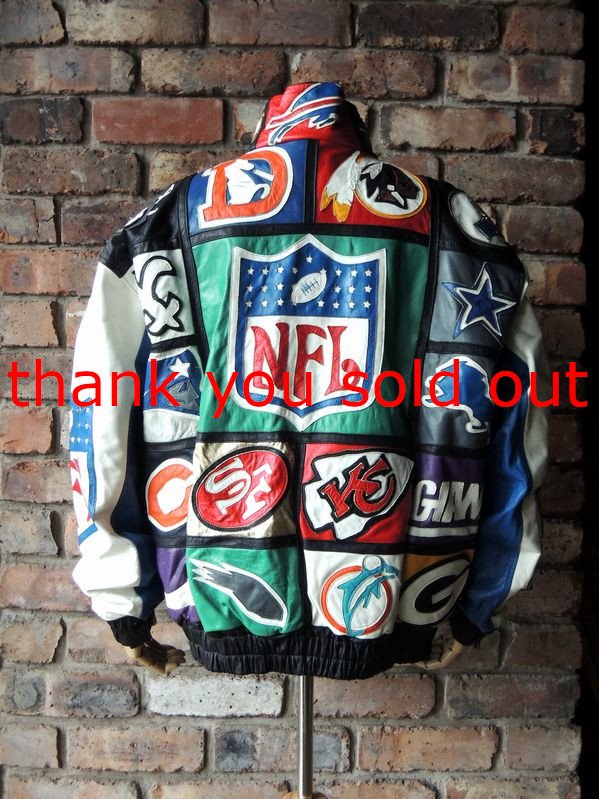 Domini NFL Fake leather Jacket sizeXL