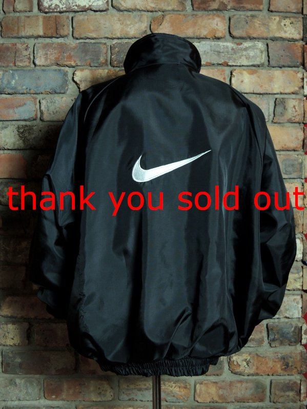 NIKE Nylon Black Jacket Made in USA