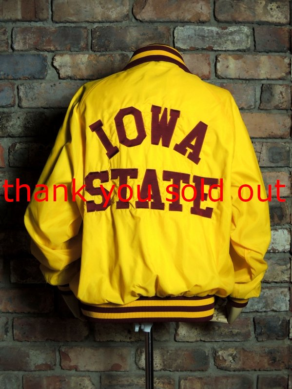 90's Champion Nylon Varsity jacket Iowa State