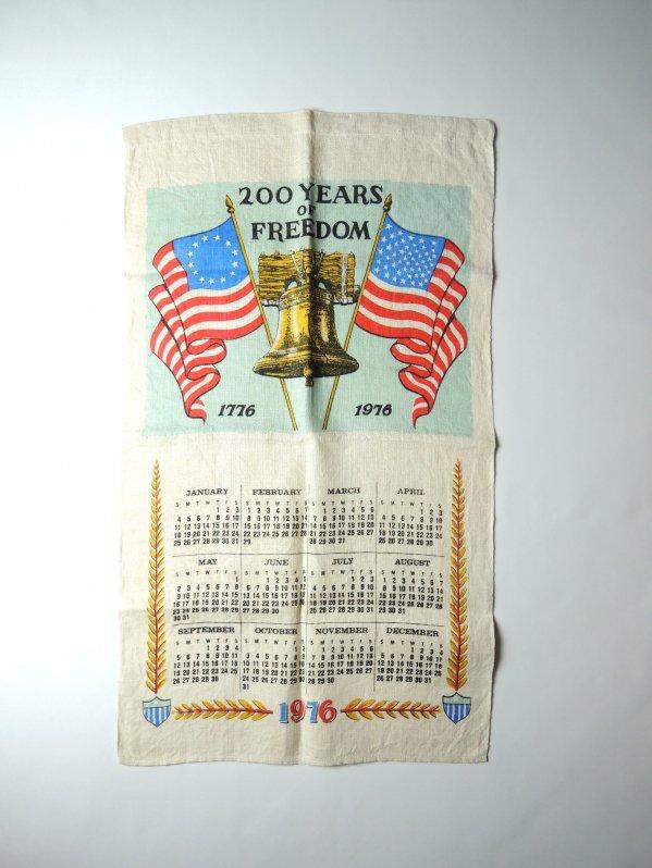 '76 200 Year of Fleedom Tapestry Calendar