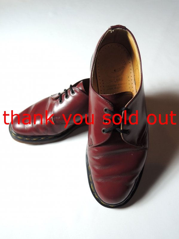 Dr.Martens 3hole Leather shoes Cherry red size6 1/2