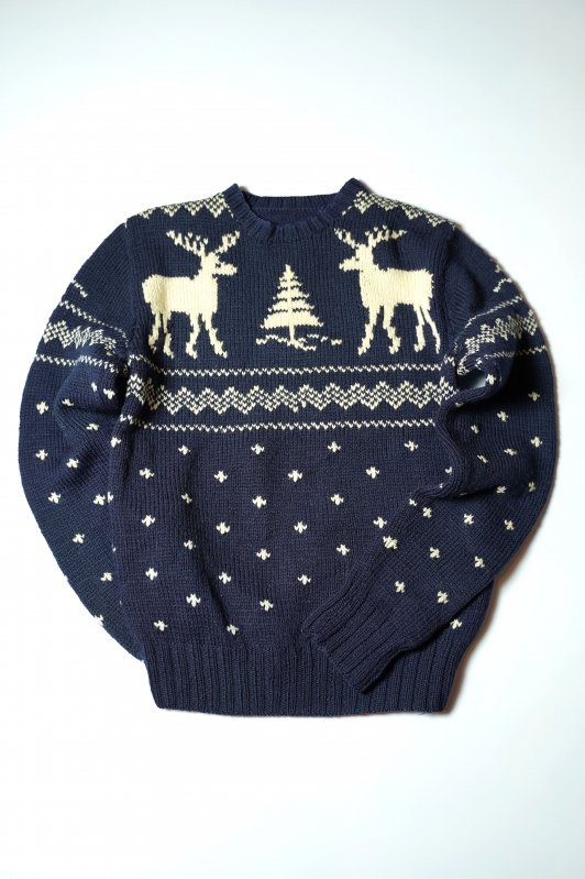 Unknown wool knit sweater Snow