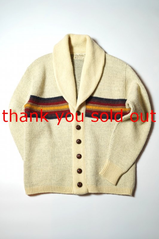 Pendleton wool knit Native Cardigan