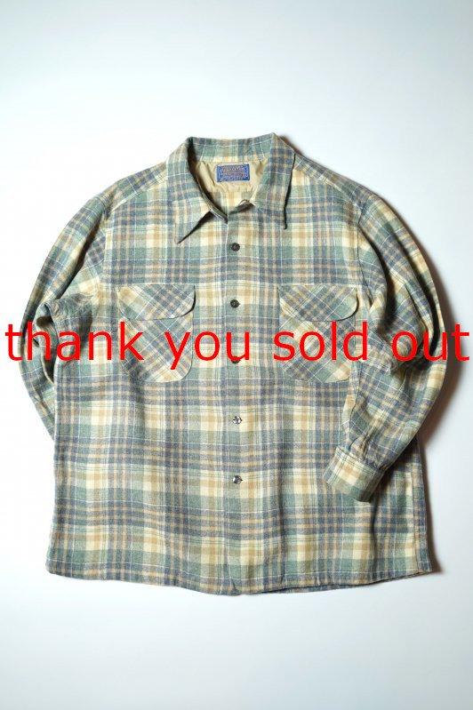 70's Pendleton Wool Check O/C Shirt