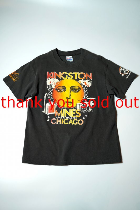90's Hanes Kingston Mines Chicago Blues T-shirt