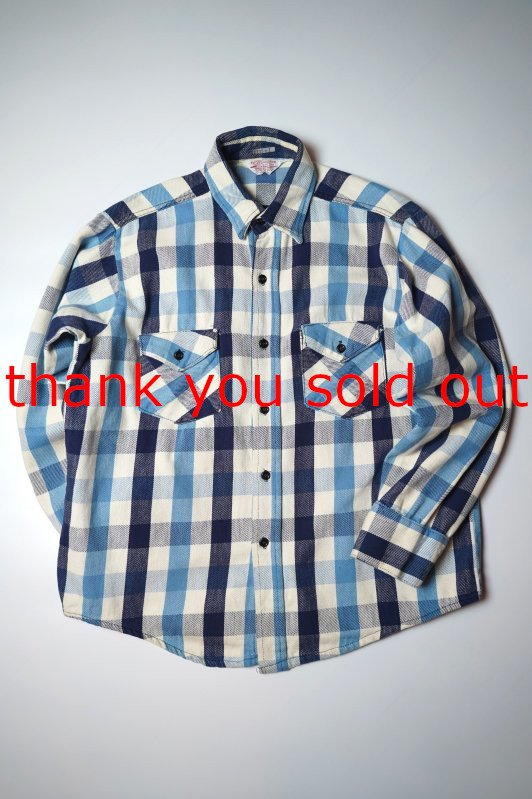 70's80's Frostproof cotton Flannel check shirt