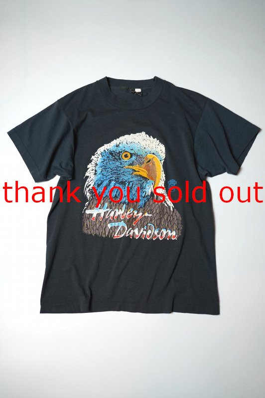 70's80's Unknown Harley Davidson Eagle T-shirt