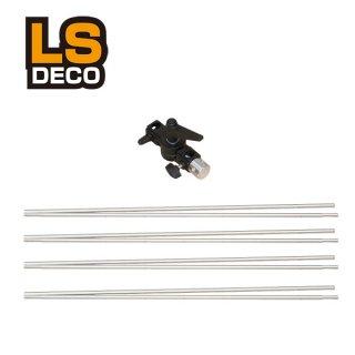 LS DECO 自立レフ板 折りたたみ式アルミ棒 首部分のみ(28768)