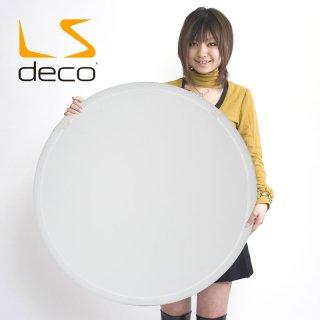 LS DECO 丸レフ板80cm  【白】(26736)