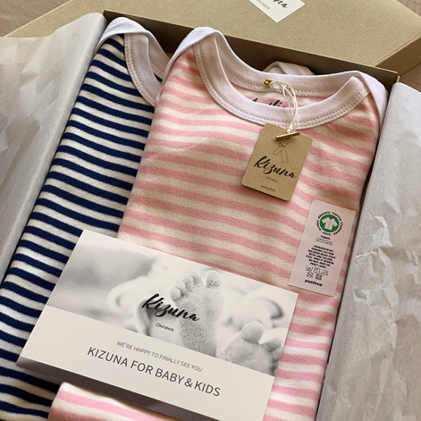 【Baby Gift Box】 baby rompers「daylis」2着組 6500円