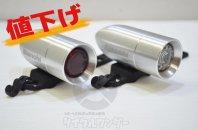 BIANCHI ビアンキ ロゴ入り USB バレットライト フロント/リアセット 中古品