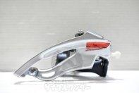 SHIMANO Deore LX FD-M570 フロントディレイラー バンド径 31.8mm 上引き 3×9速 美品