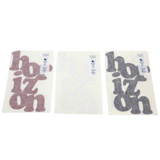 horizon ホライズン |die cut sticker (ステッカー)(ダイカット)(ロゴ)