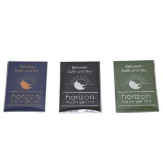 horizon ホライズン |Sun logo sticker (3個入り)(サンロゴステッカー)(ステッカー)