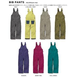 GREEN CLOTHING グリーンクロージング BIB PANTS (ビブパンツ)
