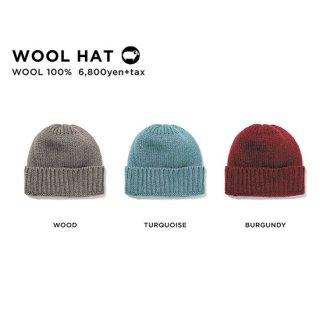 GREEN CLOTHING グリーンクロージング WOOL HAT (ニット帽)