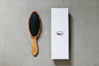 オリーブウッドのクッションブラシ(髪の毛用)