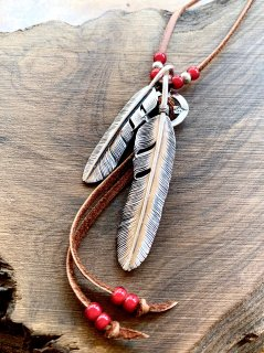 Custom Feather Necklace-001