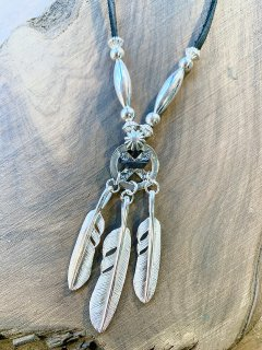 Custom Feather Necklace-004