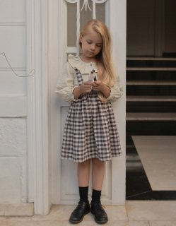 <img class='new_mark_img1' src='https://img.shop-pro.jp/img/new/icons20.gif' style='border:none;display:inline;margin:0px;padding:0px;width:auto;' />30%OFF minimom Emma Skirt Brown Gingham (エマ スカート)