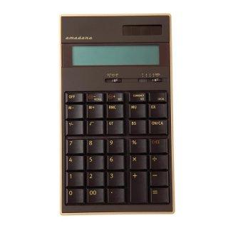 amadana電子計算機 (ブラウン) :LC-704-BR