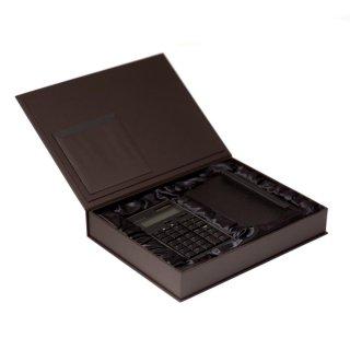 amadana電子計算機レザーケースセット (ブラック)  :LCA-704-BK