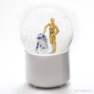 WIRELESS SNOWGLOBE SPEAKER R2-D2&C-3PO:IMP-201-RC