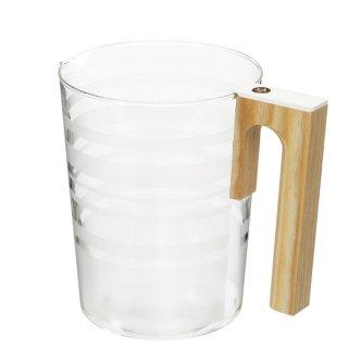 コーヒーメーカーMC-213用ガラス容器 (ホワイト) :MCS-04-WH