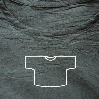 Tシャツ ショート 灰緑