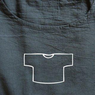 Tシャツ ショート 墨黒